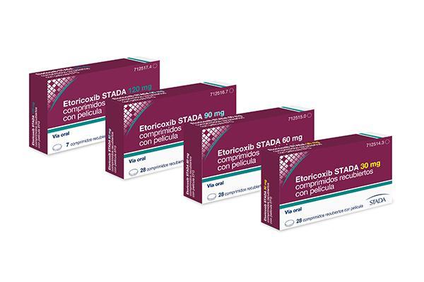 stada lanza etoricoxib stada efg para el alivio sintomatico de la artrosis artritis reumatoide y artritis gotosa aguda