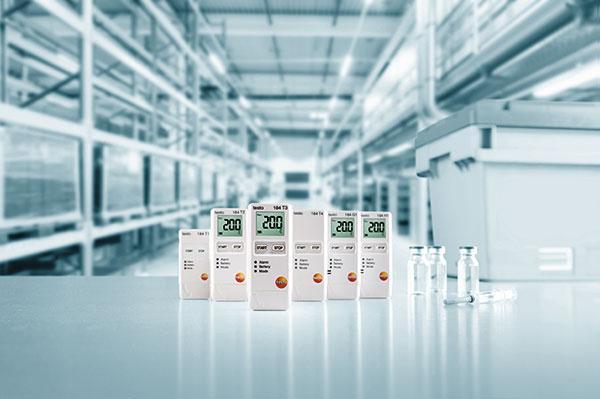 testo 184 monitoriza y documenta la temperatura humedad y vibraciones en la logstica farmacutica