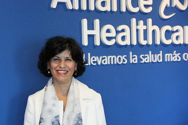 alliance healthcare elige a su nueva directora comercial de farmacias y laboratorios
