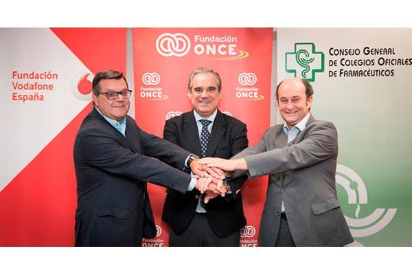 cgcof y las fundaciones once y vodafone espana facilitaran informacion accesible sobre medicamentos