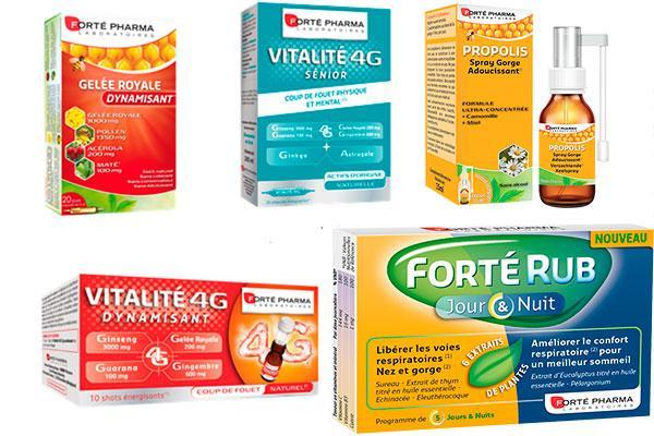 forte pharma amplia su cartera de productos