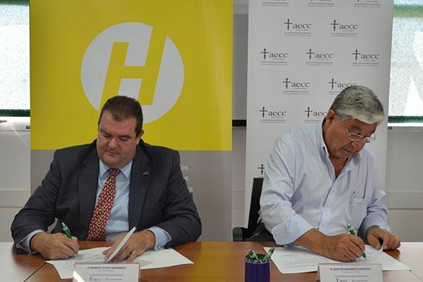 fundacion hefame ratifica su compromiso con la asociacion espanola contra el cancernbsp
