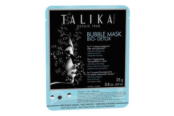 llega la nueva bubble mask bio detox de talika