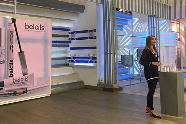 la marca para el tratamiento de las pestanas belcils regresa a television en otono