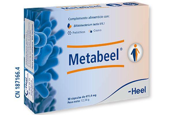 metabeel el nuevo simbiotico de la linea heelprobiotics que equilibra el sistema metabolico