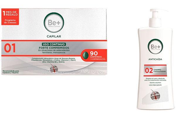 la nueva gama capilar anticaida de be apuesta por mejorar la salud del cabello