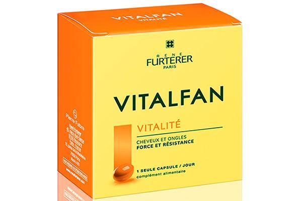 vitalfan vitalidad el complemente alimenticio para fortalecer los cabellos finos y las uas quebradizas