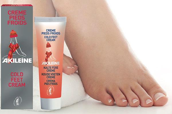 akilene apuesta por la crema pies fros