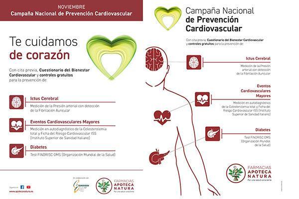 apoteca natura al lado de la prevencin de la salud cardiovascular