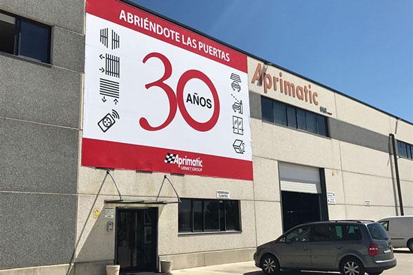 aprimatic espana celebra su 30 aniversario