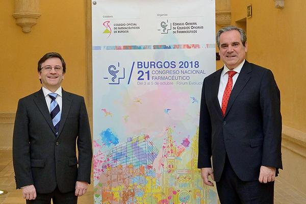 burgos acogera entre el 3 y el 5 de octubre de 2018 el 21 congreso nacional farmaceutico