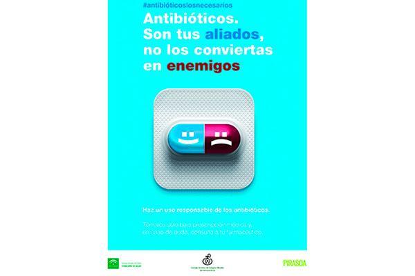 la farmacia andaluza hace un llamamiento a realizar un correcto uso de los antibioticos