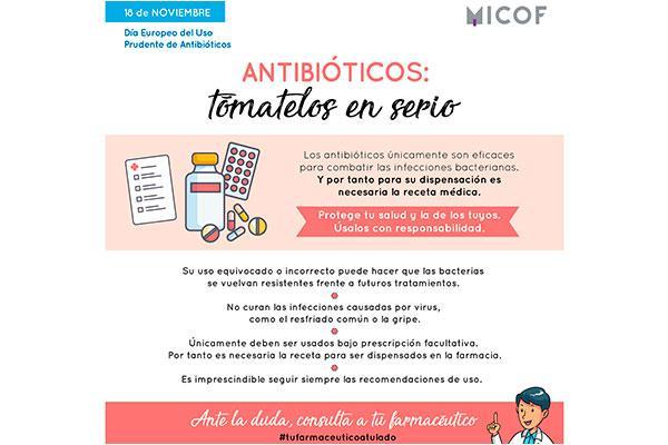 las farmacias valencianas se unen a la campaa antibiticos tmatelos en serio