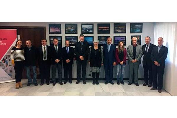grupo menarini recibe en sus instalaciones la visita de la alcaldesa de badalona