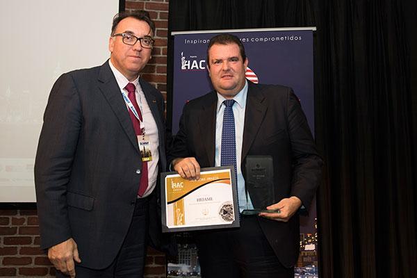 hefame recoge el premio a la excelencia empresa desarrollo sostenible en el nys 2017