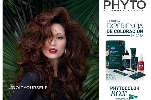 phyto presenta la primera box de coloracin en casa para un color impactante