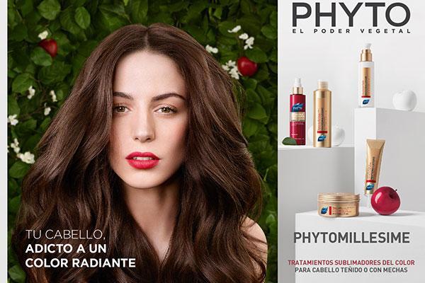 phyto presenta la solucion para conservar un color intenso y duradero en el cabello tenido