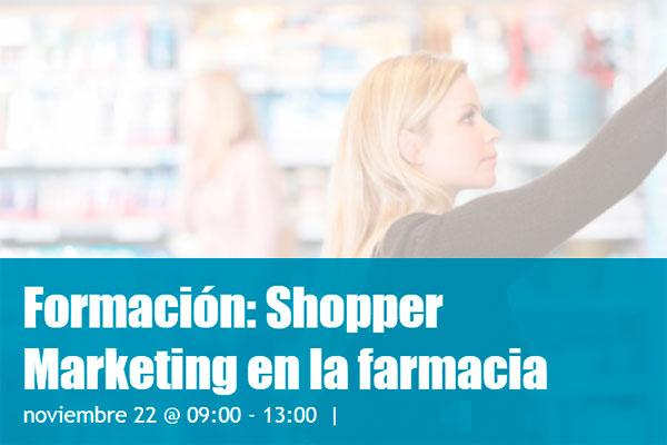 shoppertec organiza el proximo dia 22 la formacion shopper marketing en la farmacia