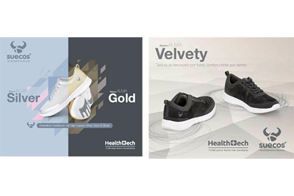 suecos anade a su gama alma tres nuevos modelos en acabados metalizados y texturizados