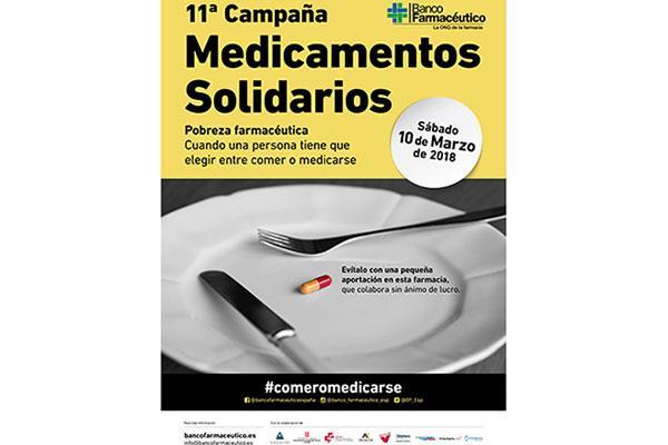 la 11 campana de medicamentos solidarios de banco farmaceutico requiere mas farmacias