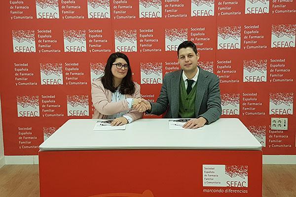 convenio de colaboracion entre sefac y la federacion de asociaciones de celiacos de espana