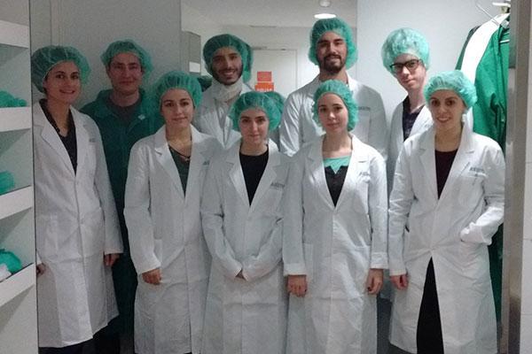 la i edicion de lab day llega a las instalaciones de aristo pharma iberia para formar a futuros farmaceuticos