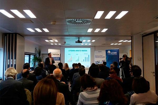 la jornada i love industria evidencia el papel clave de aristo pharma en el tejido empresarial madrileno