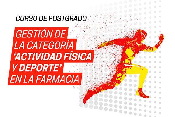 laboratorios vinas patrocina el postgrado gestion de la categoria actividad fisica y deporte en la farmacia