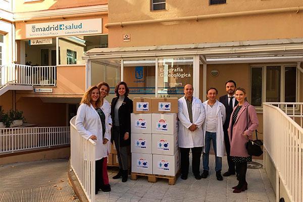 omfe cofares colabora con madrid salud en el suministro de material sanitario en senegal