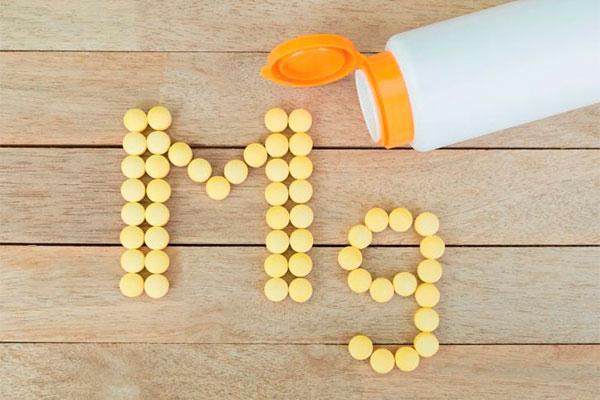 la ingesta diaria de magnesio de los complementos nutricionales no debe superar los 250 mg
