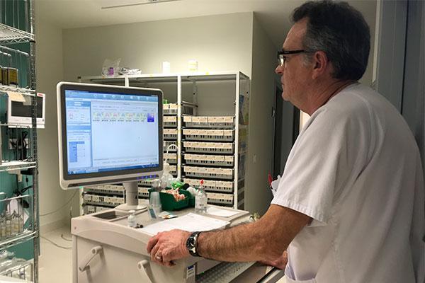el departamento de salud de gandia incorpora la prescripcion electronica en hospitalizacion
