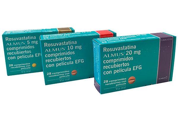 almus lanza rosuvastatina 5 10 y 20 mg la version bioequivalente a crestor