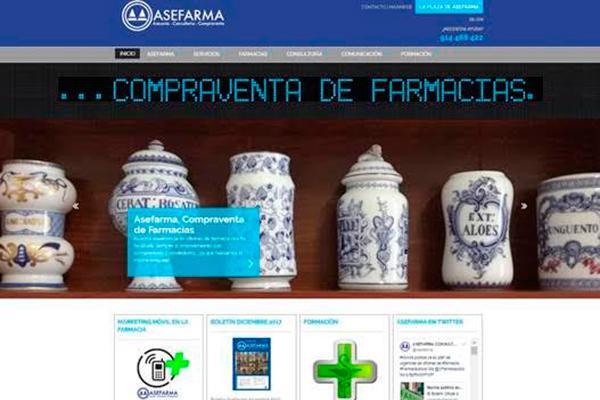 asefarma renueva su portal web
