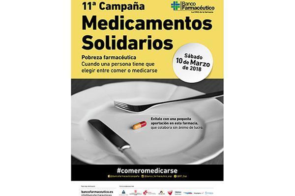 la 11 campana de medicamentos solidarios necesita mas farmacias colaboradoras