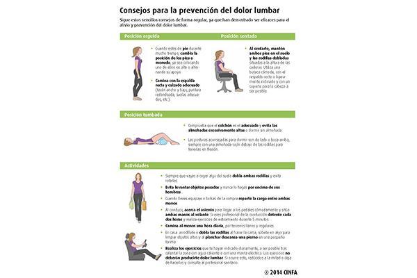 diez consejos para tener una espalda sananbsp
