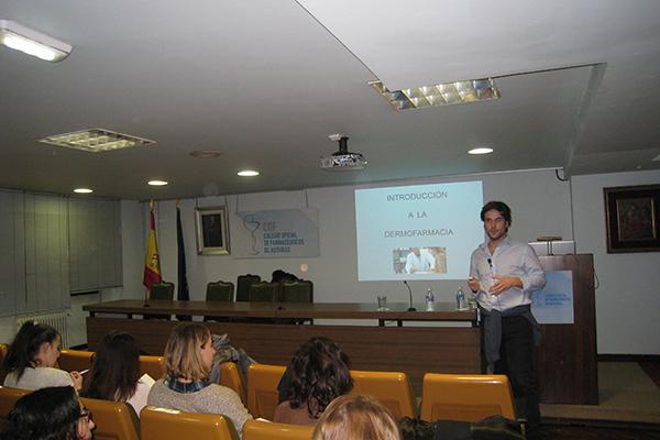 los farmaceuticos asturianos ahondan en la dermatologia