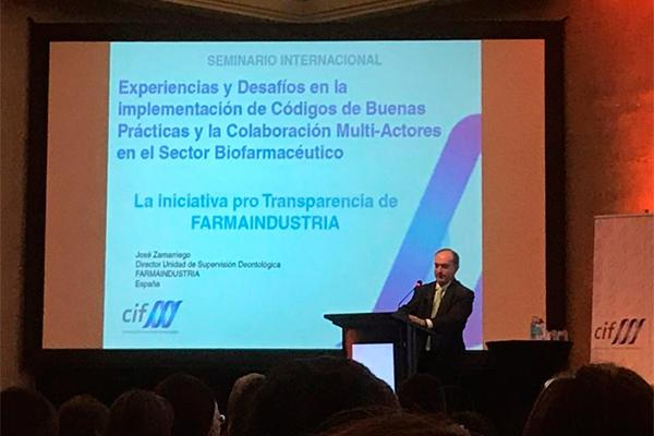 farmaindustria aborda en chile el sistema autorregulatorio de la industria farmacutica en espaa