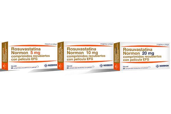 normon lanza al mercado rosuvastatina normon efg