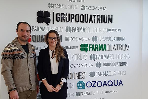 ozoaqua entrega el 5 de sus ventas para la recuperacion del monte afectado por los incendios