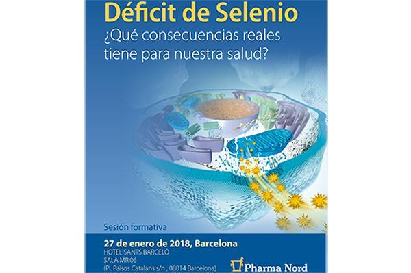 pharma nord patrocina el prximo 27 de enero una jornada de formacin sobre selenio