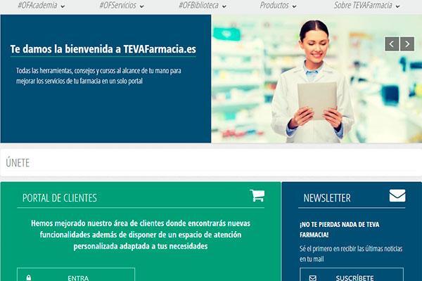 teva lanza un nuevo portal web unificado para la innovacion y el crecimiento de la oficina de farmacia