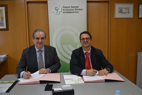 acuerdo de colaboracion entre cgcof y feder