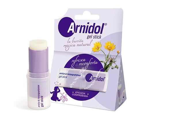 arnidol gel stick la solucin para los pequeos golpes