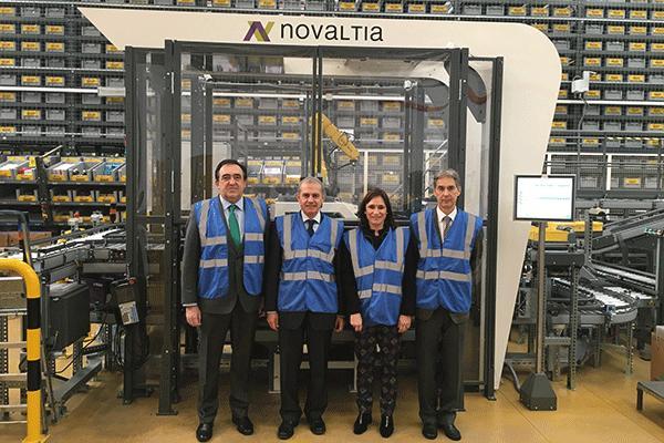 el director de farmacia del gobierno vasco visita las instalaciones de novaltia en zaragoza