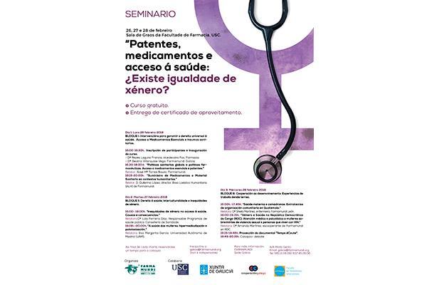 farmamundi prepara un seminario sobre la desigualdad de genero en la salud