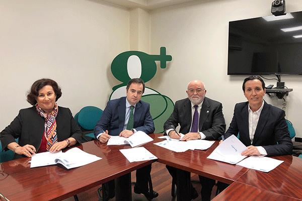 los cof del pais vasco e ibermatica renuevan su acuerdo de colaboracion