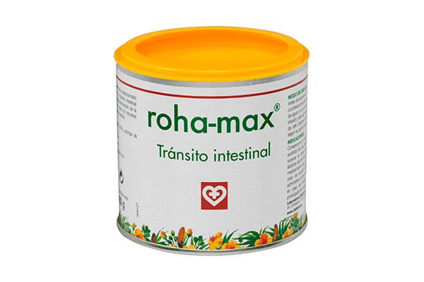 rohamax te ayuda a mantener el funcionamiento normal del transito intestinal