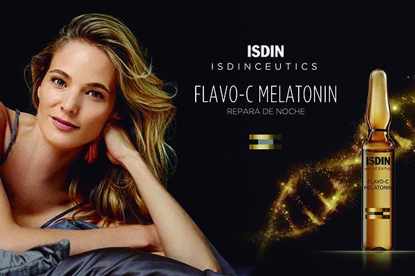 serum reparador de noche flavoc melatonin el primero con melatonina topica