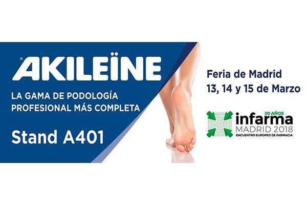 akileine estara presente en infarma 2018