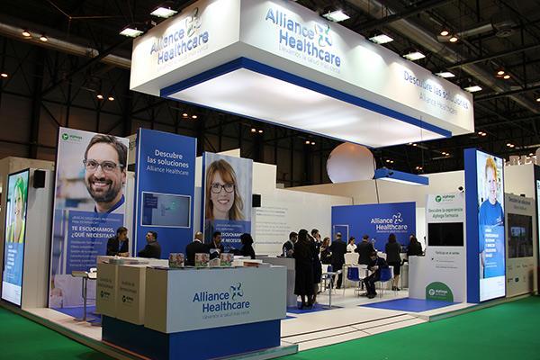 alliance healthcare presenta sus soluciones en infarma 2018